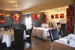 Exposition en restaurant
